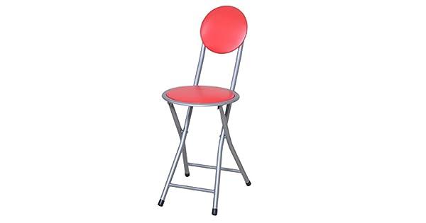 Amazon.com: aidelai taburete Simple plegable, silla ...