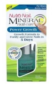 Nutra Nail Mineral Care Collections Power Growth For Short Brittle Nails - 0.45 (Nutra Nail Growth Treatment)
