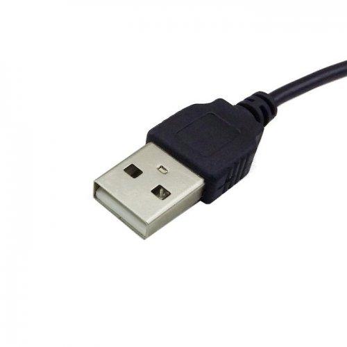 SN-RIGGOR 3-Pack 3.3ft USB to 5.5 mm 2.1 mm 5 Volt DC Barrel Jack Power Cable USB to 5.5mm x 2.1mm Barrel Power Adapter dc to USB Converter USB to dc Power Cable USB to dc 2.1mm