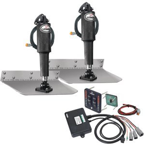 TRIM TAB KIT-STD 9X12 W-LED SW