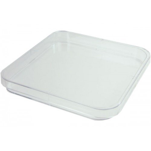 120MM TRIPLE VENT SQUARE PLASTIC PETRI DISH (PACK 10) GREINER BIO ONE