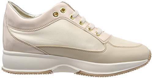 Para Cn003 beige De Raul Zapatos Beige Derby Lumberjack Cordones Mujer wn4CxAH