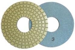 Toolocity CPP06P3 6-Inch Dry 5-Step Diamond Polishing Pads for Concrete-Pos 3