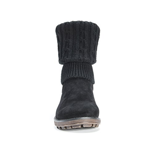 Pictures of MUK LUKS Women's Kelby Boots Fashion Black 6 M US 6