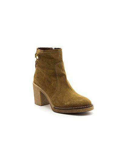 Bottines Camel Leather ALPE Marron 36811102 FqSnwd