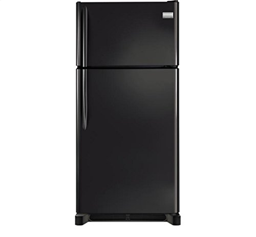 #2 rated in reliable: Frigidaire 18.3 Cu. Ft. Black Top Freezer Refrigerator, scored 95/100