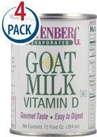 (Meyenberg Evaporated Goat Milk -- 12 fl oz Each / Pack of 4)