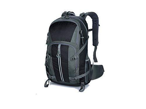 Reise-Wanderrucksack, Outdoor- und Indoor-Multifunktions-Outdoor-Tasche Kletterrucksack Wandern Reiserucksack (Schwarz)
