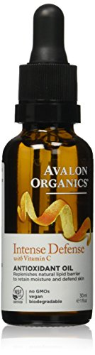 Avalon Organics Intense Defense Antioxidant Oil, 1 Fluid Ounce