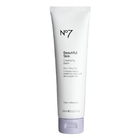 Boots No7 Beautiful Skin Cleansing Balm, Dry / Very Dry 5 fl