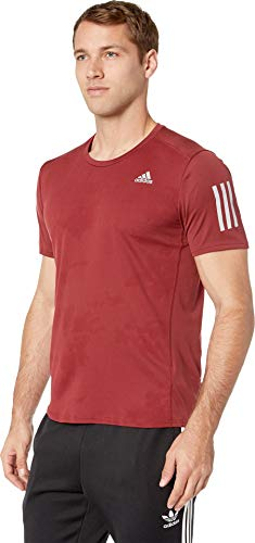 adidas Running Response Tee, Noble Maroon, Medium