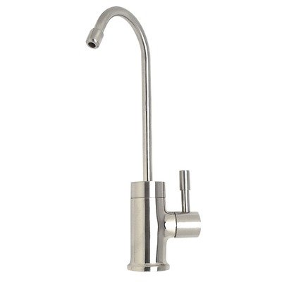 One Handle Single Hole Cold Drinking Water Faucet Finish: Polished (Mountain Faucet)