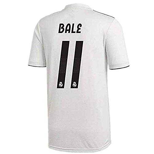 MjshuaMnyg Bale  11 Real Madrid Home Soccer Jersey 18-19 Season Color White 521653055