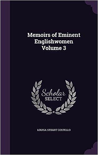 Ilmainen saksankielinen kirja lataa pdf Memoirs of Eminent Englishwomen Volume 3 1356308600 PDF by Louisa Stuart Costello