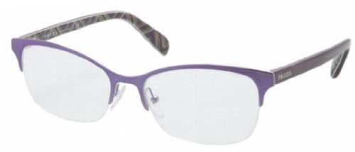 PRADA Eyeglasses VPR 60P PURPLE MA21O1 - Eyeglasses Prada Purple