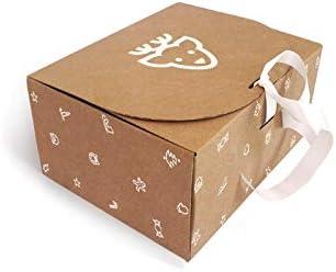 Caja de Cartón Navidad Reno T10 pack de 10 unidades.: Amazon.es ...