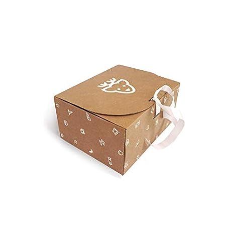 Caja de Cartón Navidad Reno T10 pack de 10 unidades.: Amazon.es: Oficina y papelería