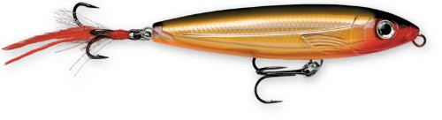 Rapala X-Rap Walk 13 Fishing lure, 5.25-Inch, Gold