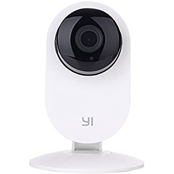 YI Home Camera, Wi-Fi IP Indoor Security System with Motion Detection,  Night Vision for Baby / Pet / Front Porch Monitor, Remote Control with iOS,