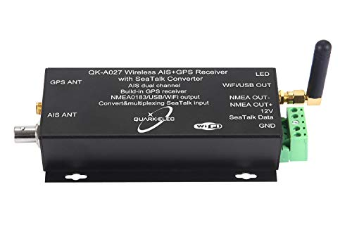 Nmea 0183 Compatible Gps - Wireless AIS Receiver + GPS With SeaTalk Converter (QK-A027)