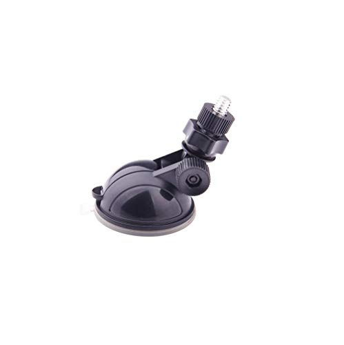 Suction Cup Mount for GIT1 and GIT2 Action Camera with Standard 1/4-20 Tripod Thread