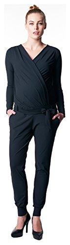 NOPPIES Damen Jumpsuit Cal Black Pants_XS