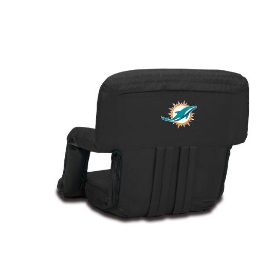 (NFL Miami Dolphins Portable Ventura Reclining Stadium Seat )