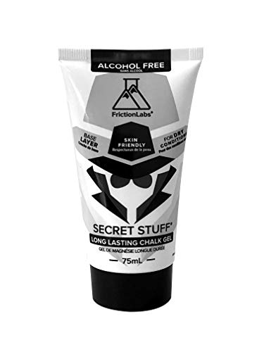 FrictionLabs Alcohol Free Secret Stuff | Liquid Chalk Gel Base Layer 75 mL | The New Standard in Chalk