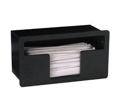 Dispense-Rite FMTS-1BT Built-In Wrapped Straw Organizer by Dispense Rite