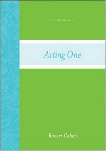 Acting One by Robert Cohen