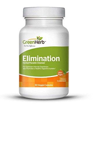 EliminationTM - Полная Parasite Детокс - Натуральное очистить - Сформулированные полынью черный орех Халл, гвоздика, Pau D'Arco, чеснок, папайя, морковный сок порошок, Wood Betany, Butternut коры, семян тыквы и многое другое для мягко и эффективно очистит