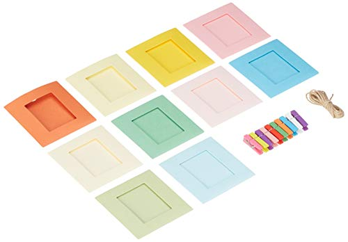 (Polaroid Colorful Square Photo Frames for 2x3 Zink Paper (Mint, Snap, Zip,)
