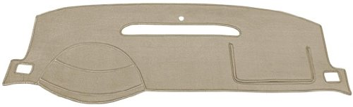 Oldsmobile Alero Dash Cover Mat Pad - Fits 1999 - 2004 (Custom Velour, Taupe) - Oldsmobile Alero Dash Cover