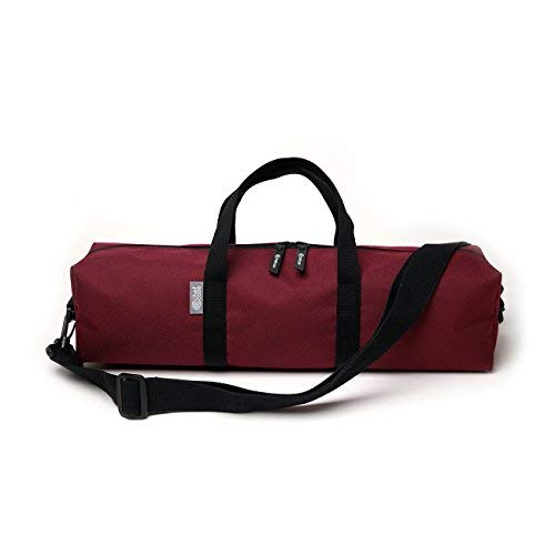 Chefcase Knife Roll (10slots) 5knives 5kitchen tools Burgundy Red(Bag Only)
