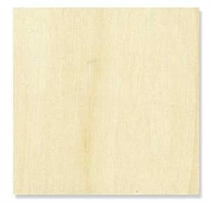 Plywood Squares Size:4 Inch (Package of 10) Thickness:1/4