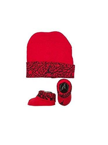 Hat Cap Booties - Nike Air Jordan Elephant Print Hat & Booties Set 0-6 Months