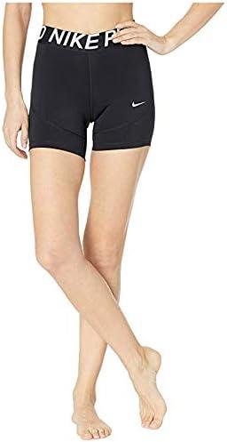 [NIKE(ナイキ)] レディースパンツ・ショーツ等 Pro Shorts 5 Black/White L 5 [並行輸入品]