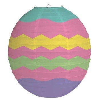 Creative Converting Easter Egg Oval Paper Lantern Hanging Decoration ()