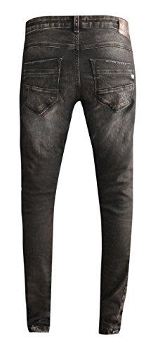 1014 Bleu Femme W9071 Black de Boyfriend zhrill Ho jeans 7xq5PvwgxC