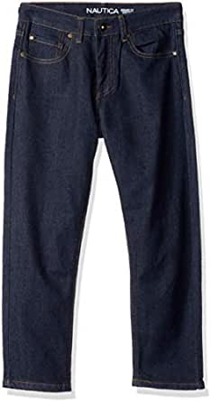 Nautica Boys' Toddler Slim Straight Jeans, Stanley Naval Yard, 2T