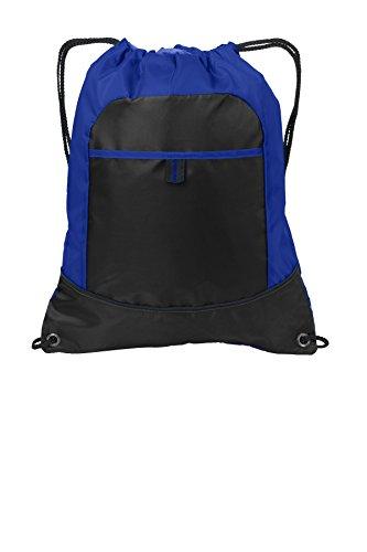 port-authority-luggage-and-bags-pocket-cinch-pack-osfa-hyper-blue-black