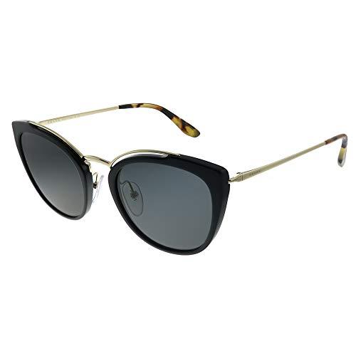 Prada Women's PR 20US Cat Eye Sunglasses, Pale Gold/Black, One ()