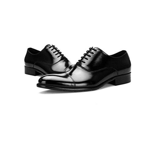 Pointu Souple Automne Hommes Ruban Couleur Sports zmlsc Eté Black Toile Printemps Chaussures Occasionnels Business Hiver Rond g0xg4XF