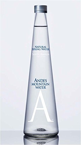 Andes Mountain Spring Water - Still(750ml or 25.4oz) 12 bottles pk. by Andes Mountain Spring Water