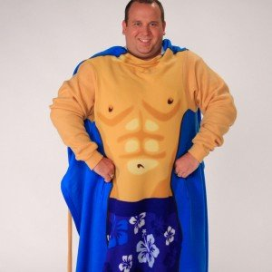Snuggie Up Male Bathing Suit