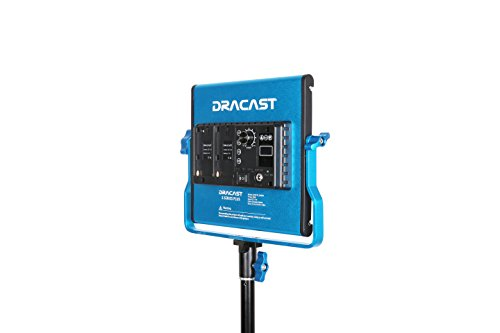 Dracast DRSPPLLK3x500DNH S Series Plus Daylight LED500 3-Light Kit 2 NPF Plates with Hard Case, Blue by Dracast (Image #3)