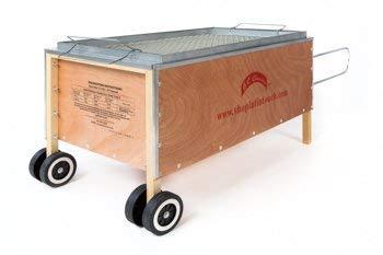 La Caja Asadora Roasting Box (Caja China) Pig Roaster Aluminum 100 LB (Chinese Cooking Box)