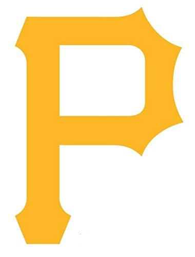 Pittsburgh Pirates P Die Cut Vinyl Sticker Decal