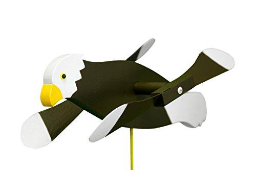Bald Eagle Whirligig / Whirly Bird Garden Spinner