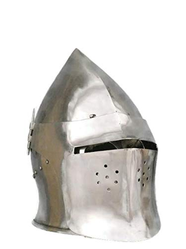 Amazon com : LM Handicrafts, Medieval Buhurt Helmet